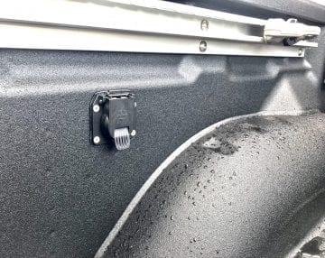 Line-X bedliner wheelarch