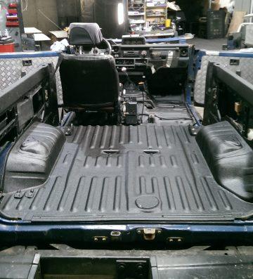 Line-X Vehicle floor