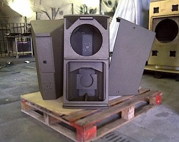 Line-X Speaker Black