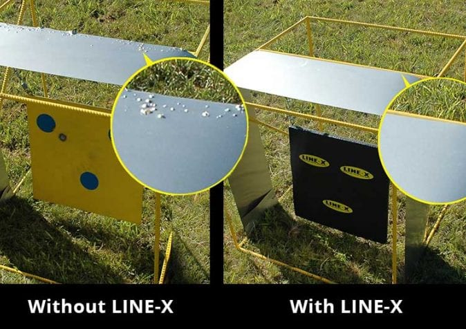 Line-X Spall Protection