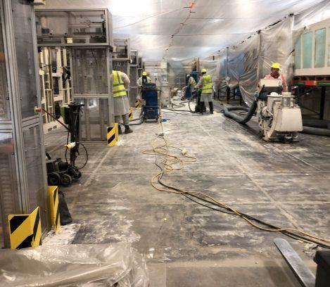 Line-X Floor Prep
