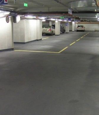 Line-X car park decking